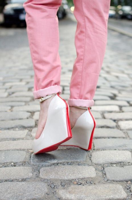 peep toe wedges for spring. available on shop601.com