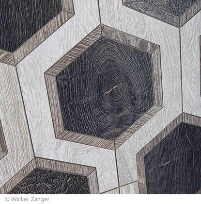 Detail of the buckle pattern in charcoal from walker for Walker zanger