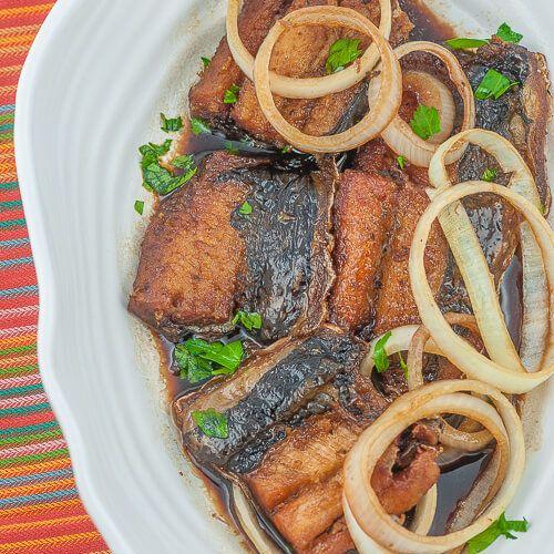 Filipino Fish Steak Recipe Fish Steak Recipe Bangus Recipe Steak Recipes