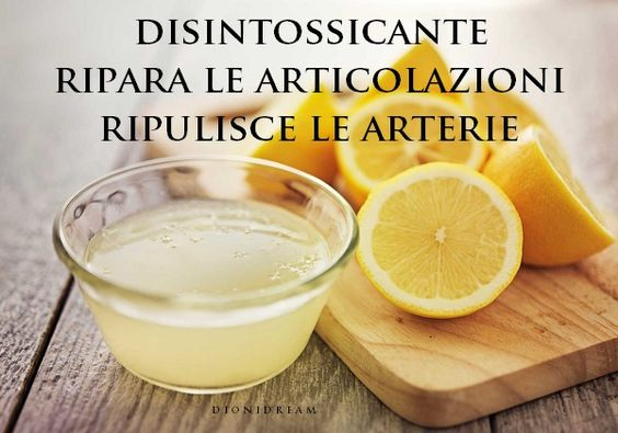 La cura a base di limone del Dott. Costacurta per artrosi, colesterolo, ipertensione