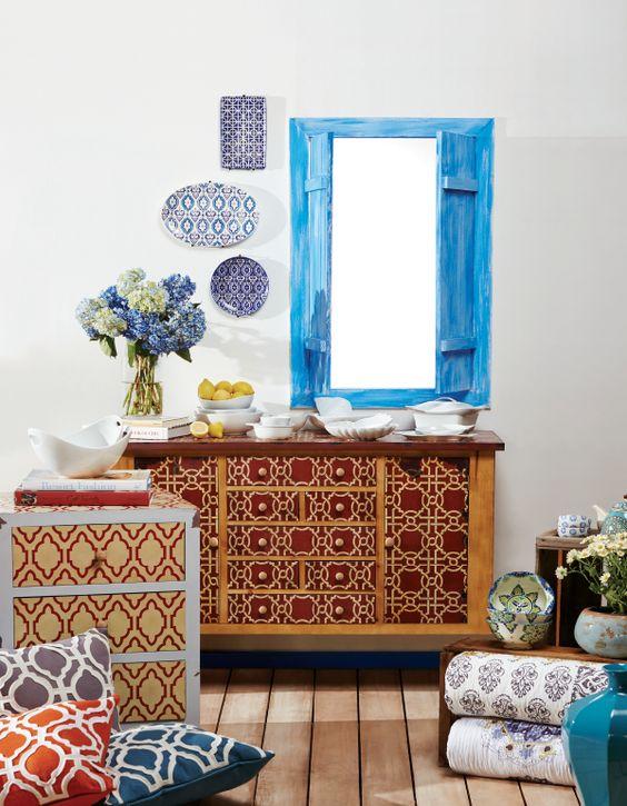 En el estilo mediterr neo priman los colores naturales del azul del mar y los tonos tierra - Muebles estilo mediterraneo ...