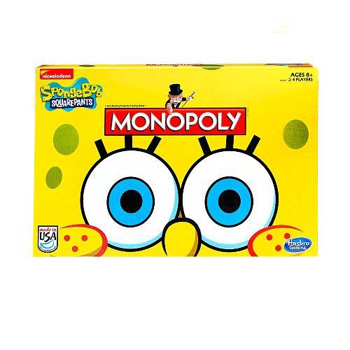 Monopoly Game Spongebob Squarepants Edition Hasbro Toys R Us Spongebob Games Spongebob Monopoly Game