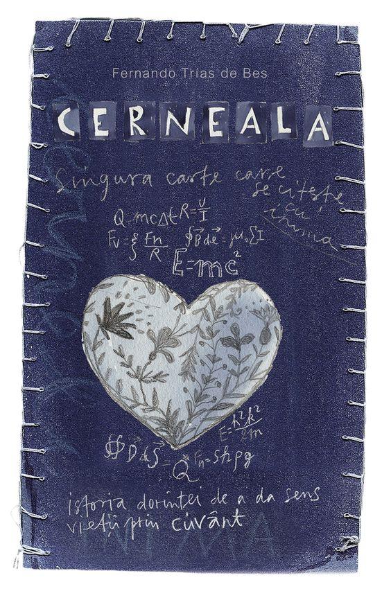 Cerneala/ The Ink, de Fernando Trías de Bes, coperta de Stela Lie.