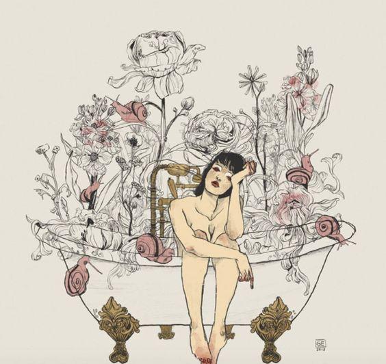 ilustraciones de mujeres 11