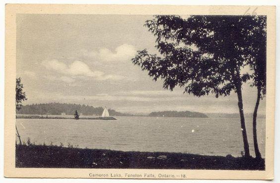 circa 1930's ... Cameron Lake
