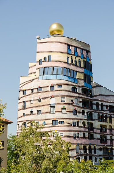 Friedensreich Hundertwasser The Waldspirale In Darmstadt