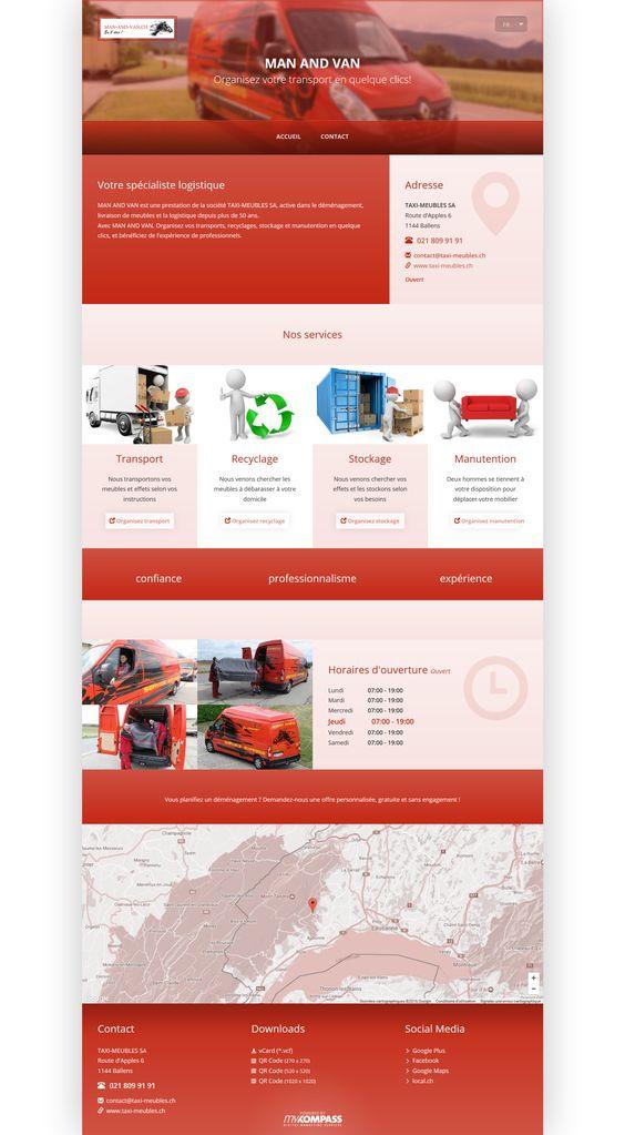 TAXI-MEUBLES SA, Ballens, La Côte, transport company, transport, Relocation, Storage