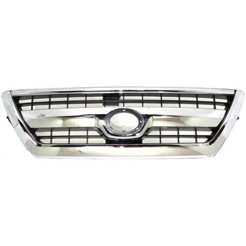 2006-2009 Toyota 4runner Grille, Chrome Shell/primed