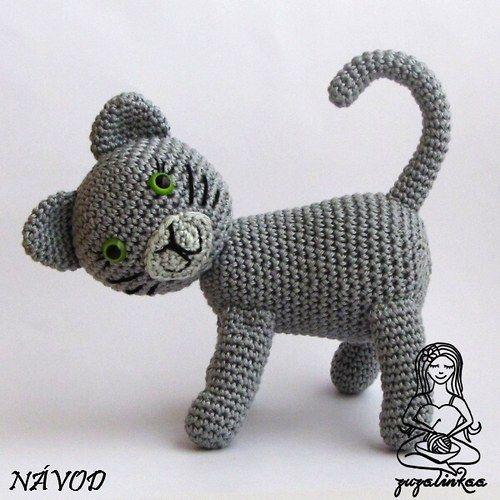 Návod - Kočička (hračka)