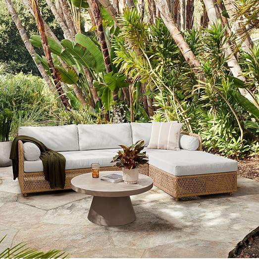Modular Coastal Outdoor Sectional In 2021 Modular Outdoor Sectional Deep Seating Best Outdoor Furniture