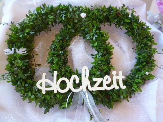Türkranz  zur Hochzeit von Kränzchen und Co. auf DaWanda.com