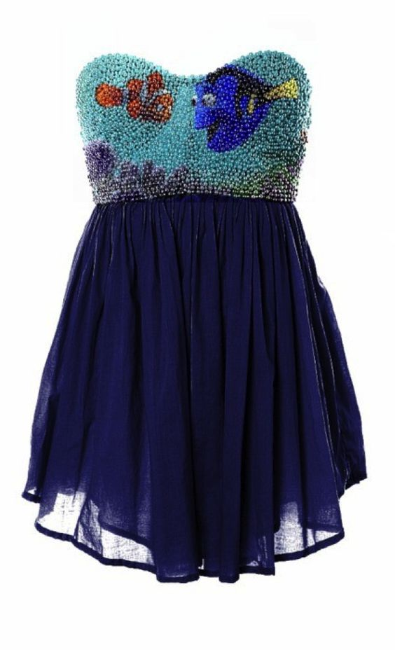 Finding Nemo Dress?? YES PLEASE!