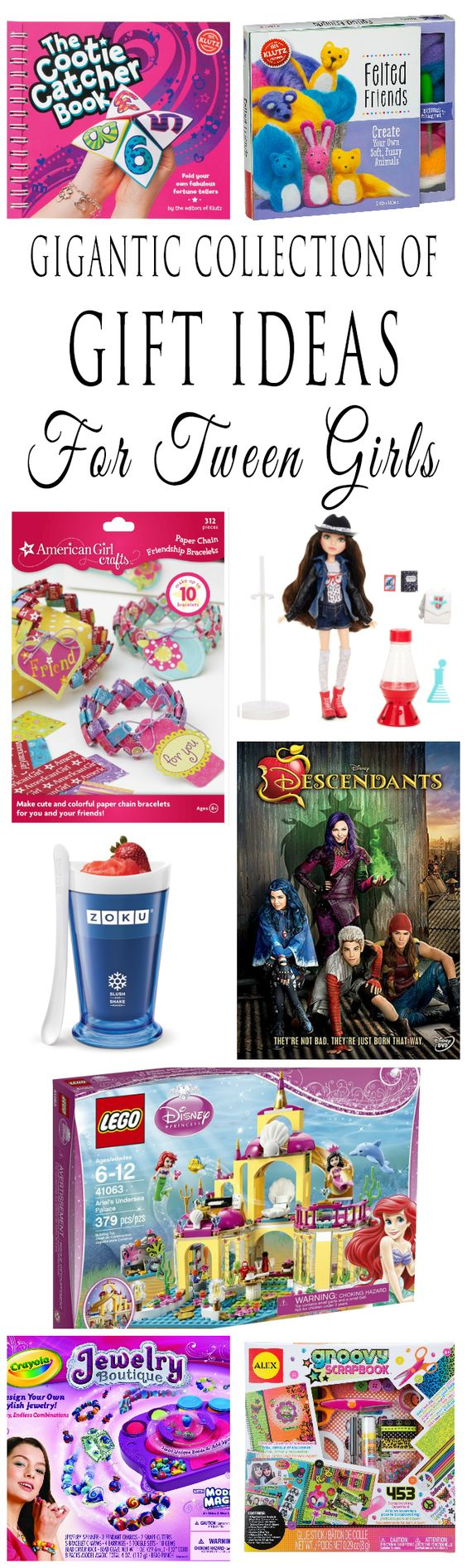 Toys For Tween Girls : Gift ideas for tween girls they will love crafts movies