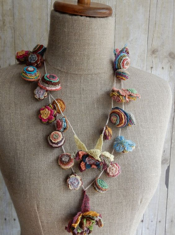 """Pop Up"" Necklace – French Needlework Kits, Cross Stitch, Embroidery, Sophie Digard – The French Needle:"