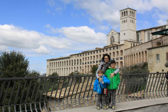 Family Pepe in Assisi