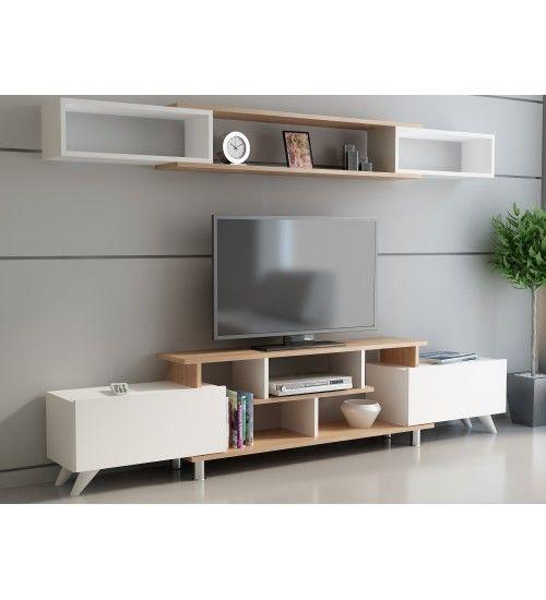 Utradeshop طاولة طاولة تلفاز تلفزيون Tv Tvunit Tvunitesi طاولة تلفزيون ديكور صالة Tv Unit Furniture Cool Tv Stands Tv Stands And Entertainment Centers