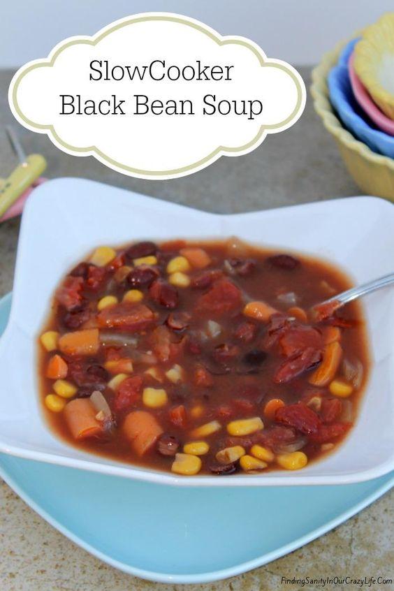 ... black bean soup slow cooker black beans black beans beans soups black