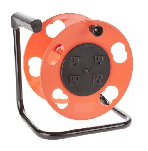 Bayco Cordwheel Add A Cord 4 Outlet K 2000 Cord Storage Extension Cord Cord