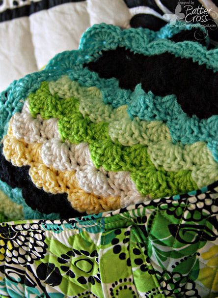 Triple the Scraps: 2 More Afghans {Complete}