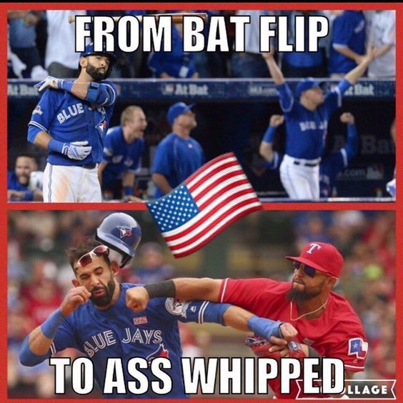 Hey Bautista.....Are The Stars Big & Bright in Texas?!