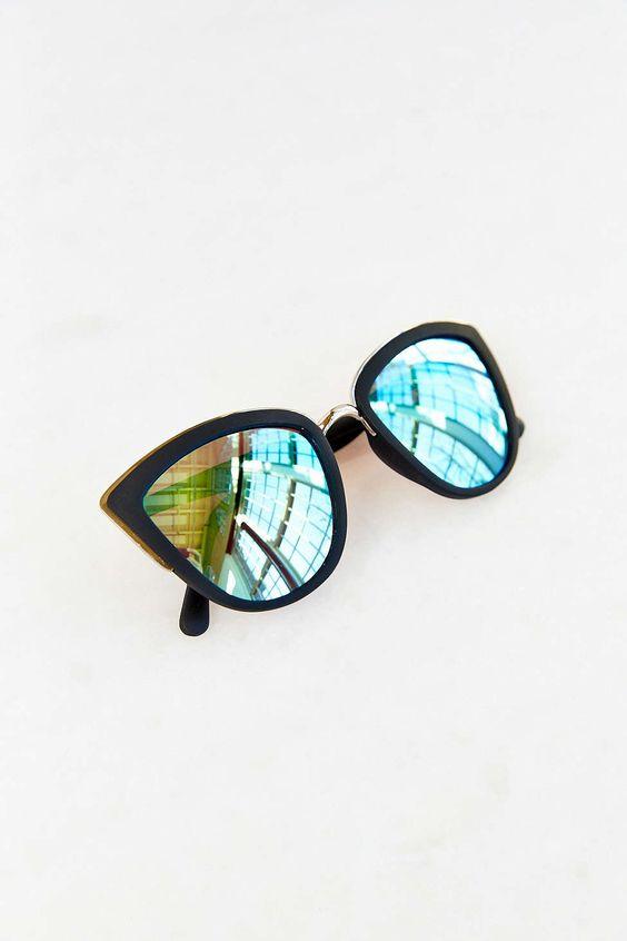 MUST OWN SOON! @teeeenah Quay My Girl Sunglasses - Urban Outfitters