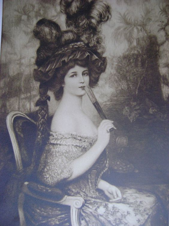 Jahrhundert alte britische Mezzotint-Print. Original Antik