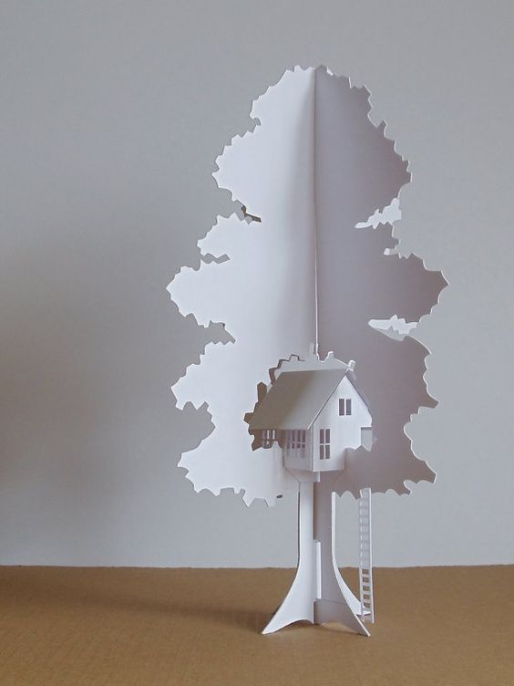 Folding Tree House ~ The Folded Forest