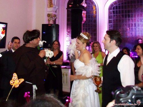 Casamento com Santo Antonio!