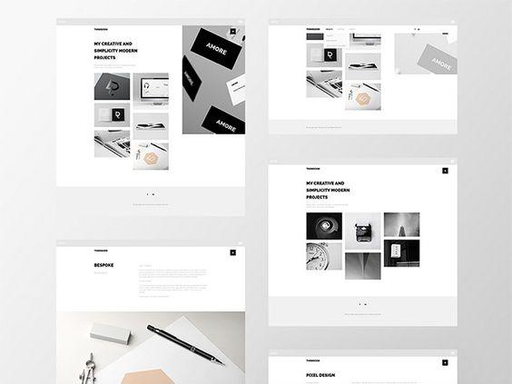 thomsoon free portfolio template