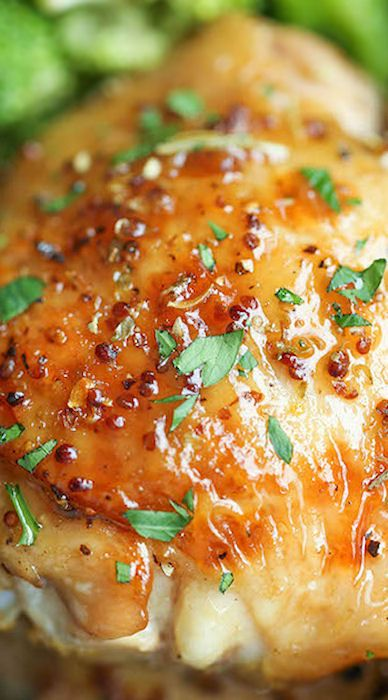 Maple dijon chicken, Dijon chicken and Chicken broccoli on Pinterest