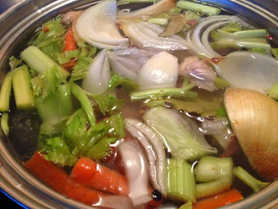 starting the week off with broth