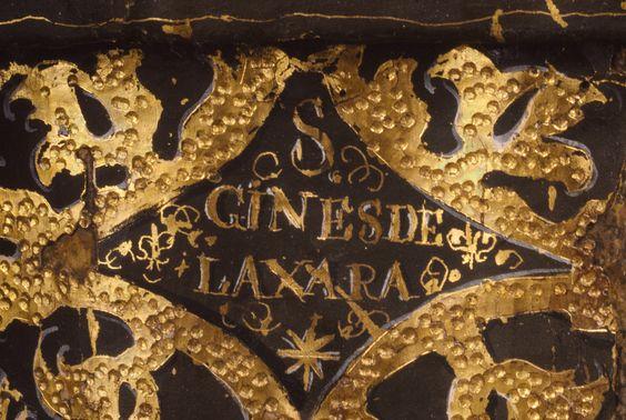 "Back, inscription, post-conservation / Saint Ginés de la Jara; Luisa Roldán (called ""La Roldana"") (Spanish, 1652 - 1706), Polychromer: Tomás de Los Arcos (Spanish, born 1661); Spain; about 1692; Polychromed wood (pine and cedar) with glass eyes; 175.9 x 91.9 x 74 cm (69 1/4 x 36 3/16 x 29 1/8 in.); 85.SD.161"
