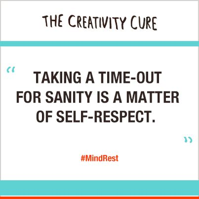 Repin if you agree! Get The Creativity Cure in paperback: http://www.thecreativitycure.com/buy_the_book