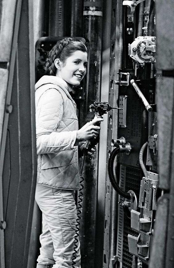 Carrie Fisher - Princess Leia - Star Wars - The Empire Strikes Back: