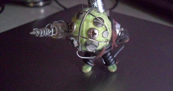 Big Daddy keychain from Bioshock