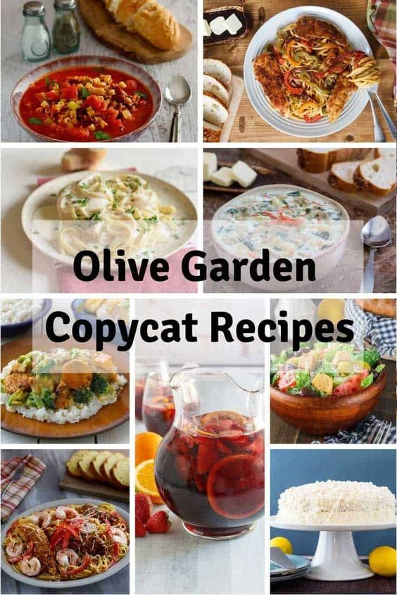 Most Loved Olive Garden Copycat Recipes