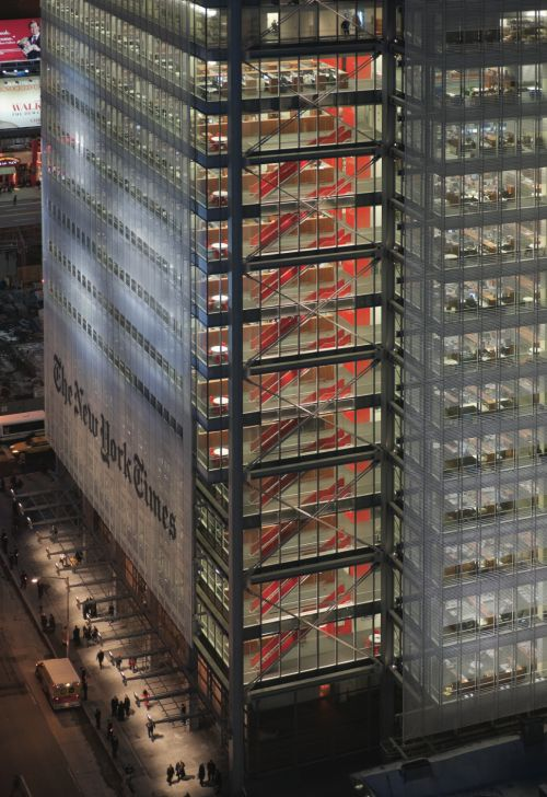 The New York Times, NY | Renzo Piano Building Workshop : RPBW