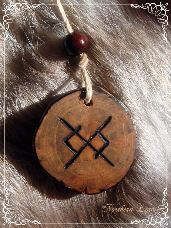 bind runes for eternal love - Google Search          My boyfriend & I have this rune tattooed on our left ring finger.
