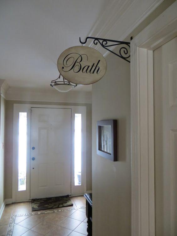 Pinterest the world s catalog of ideas for Small hallway bathroom ideas