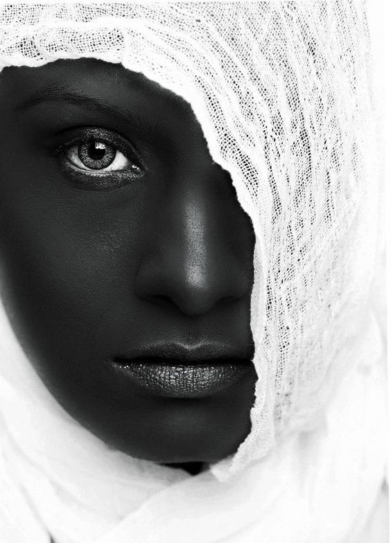 Black and white beauty: