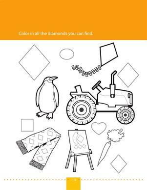 worksheets preschool shapes and coloring worksheets on pinterest. Black Bedroom Furniture Sets. Home Design Ideas