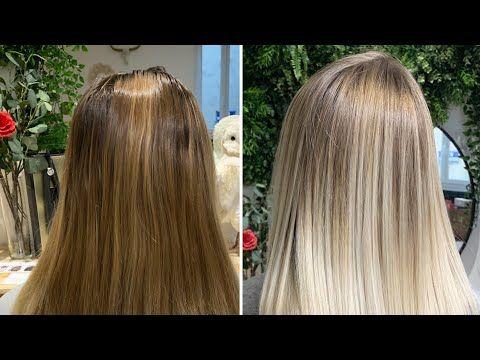 صبغ الشعر لتوحيد لونه و التخلص من البرتقالي و اي انعكاس غير مرغوب مع ليماش Youtube Long Hair Styles Hair Hair Styles