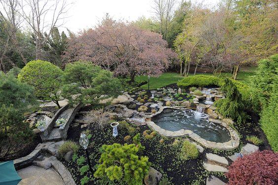 Backyard Nature Preserve : Natural, Backyards and Hot tubs on Pinterest