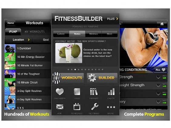 Looks like a good app for the gym.