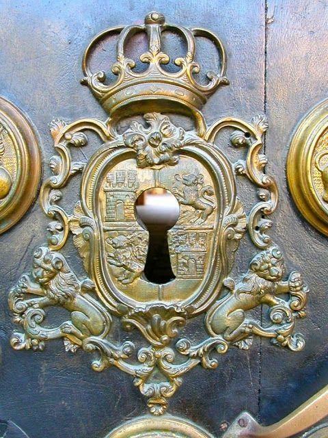 French door ~ Colette Le Mason @}-,-;---