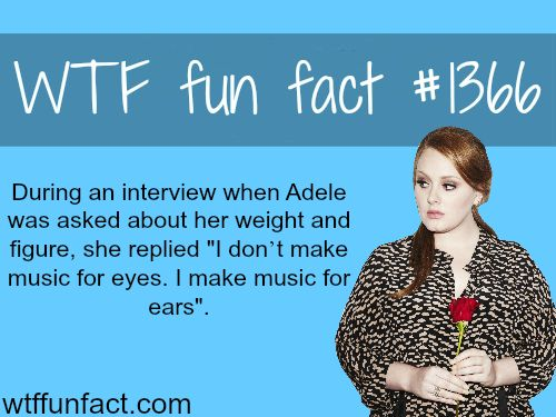 Adele weight and figure MORE OF WTF FUN facts  are coming HERE celebs and fun facts