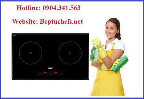 Hướng dẫn vệ sinh bếp từ Chefs EH DIH888 đúng cách