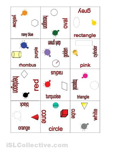 Learning Shapes Worksheets And Learning On Pinterest