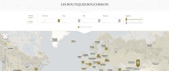 Carte Boucheron + filtres