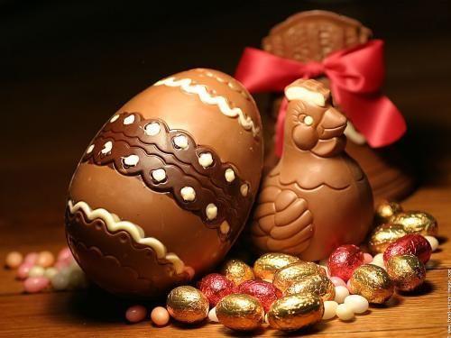 """Ça m'amuse d'entendre parfois les gens dire à Pâques """"les chocolats c'est pour les enfants"""", ben pourquoi ? Sauf contre indication médicale, je trouve que même les adultes """"ont le droit à un peu de douceur dans ce monde de brute"""". Alors cette année, pensez..."""